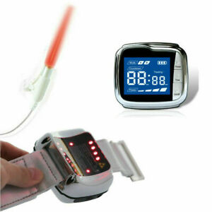11 laser beam Cold Laser Therapy Wrist Watch Device for Nasal Rhinitis Stroke