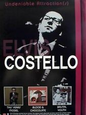 Elvis Costello 2002 undeniable TYM+B&C+BY poster ~MINT condition NEW OLD STOCK~!