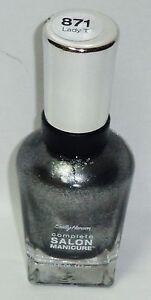 1 Sally Hansen Complete Salon Manicure Nail Polish LADY T #871