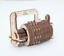 UGears UTG0017 Combination Lock Wooden 3D Mechanical Puzzle