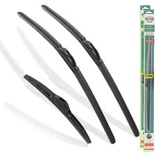 "Fits Nissan Micra 2017-ON Front And Rear Wiper Blades Hybrid 26""14""9""L"