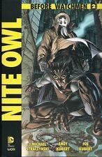 BEFORE WATCHMEN: NITE OWL VOLUME 2 DI 4 EDIZIONE LION