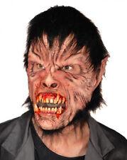Máscara Sangrienta Lobo equipado con piel de Halloween vestido elegante Terror Hombre Lobo