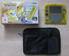 Nintendo 2DS Konsole Pokemon Gelbe Edition, OVP, Spielt 3DS + DS Spiele