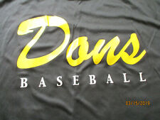 Usf University of San Francisco Dons Baseball Identification Camp Shirt Men's Xl