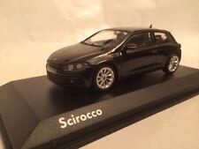 VW Scirocco III schwarz 1:43 Norev/VW neu & OVP