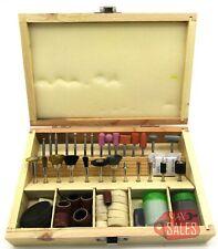 100pc Rotary Tool Universal Accessory Set Kit Sanding Polishing Cutting w/ Case