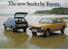 1978 Toyota Starlet (P60 model) brochure