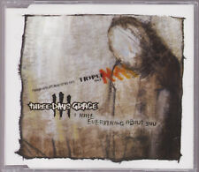 SAMPLE PROMO LIKE NEW CD SINGLE Three Days Grace I Hate Everything About You
