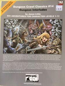 Dungeon Crawl Classics #14: Dungeon Interludes by Jason Little Goodman Games NEW