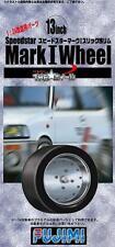 Fujimi Models 1/24 13inch Speedstar Mark I Wheels & Tyres Set (4 Wheels w/Tyres)