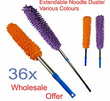 36 Microfiber Noodle Duster Soft Extendable Cleaning Dusting Tool Wholesale