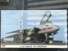 Hasegawa F-14A Tomcat VF-1 Wolfpack 1:72 NEU OVP eingeschweißt