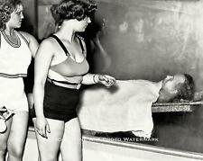 GANGSTER JOHN DILLINGER VINTAGE PHOTO CHICAGO MORGUE 1934  #21637
