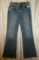 NEW Tommy Hilfiger Jeans Girl Size 12 Stretch Denim Jill Mod Bell Logo NWT