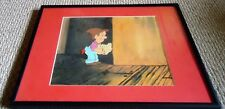 GREEN GIANT Animation Art Original Production Cel with Painted BackGrd FRAMED TV