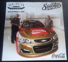 2016 TONY STEWART BOBBY ALLISON COCA-COLA DARLINGTON #14 NASCAR POSTER/POSTCARD