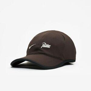 Adult Unisex Nike NSW Patta Cap -Velvet Brown -Adjustable -AJ0914 220 -NEW-
