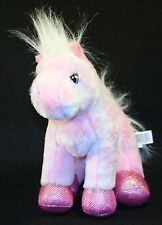 Collectable Pink Iridescent Shimmery Pegasus HM068 Ganz Webkinz Plush Stuffed