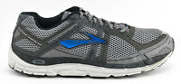MENS BROOKS ADDICTION 12 A12 RUNNING SHOES SIZE 12.5 US 46.5 EU GRAY WHITE BLUE