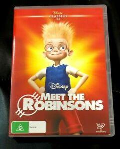 Meet The Robinsons (2016 : 1 Disc DVD Set) Very Good Condition Region 4