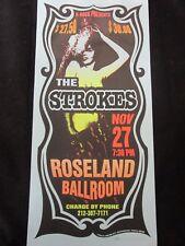 2002 Rock Concert Poster The Strokes Arminski SN Roseland Ballroom