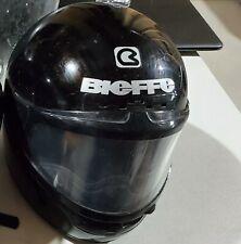 snowmobile helmet used, Bieffe, black, full face helmet. Good condition, used 2X