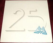 MINA MAZZINI..MINA 25..ITALIAN DOUBLE VINYL LP EX WITH POSTER 1983 ITALY POP