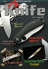 Australian Knife Magazine Edition 1 August 2017