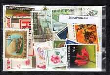 Papouasie Nlle Guinée - Papua New Guinea 25 timbres différents