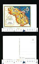CARTINA GEOGRAFICA - MARCHE E SAN MARINO - 52100