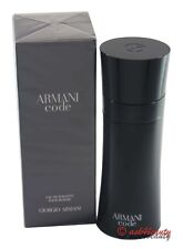 Armani Code By Giorgio Armani 6.7oz/200ml Edt Spray For Men New In Box