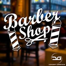 Barber Shop Scissors Hair Dressing Salon Window Door Vinyl Decal Sticker Sign