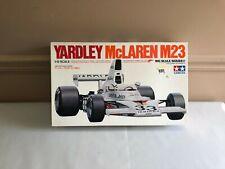Tamiya Yardley McLaren M23 Formula One Car 1:12 Scale Plastic Kit Bs1217