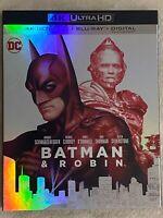BATMAN & ROBIN (1997) - 4K Ultra HD UHD disc only (No Blu-ray or Digital Copy)