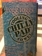 """Frogg Toggs Chilly Pad, Cooling Towel, 33"""" x 13"""",  CP100-10 Red"""