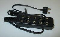 Barre de Distributeur Avec Un / Interrupteur Et Câble de Connexion - 3,5V Neuf /