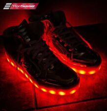 Sketchers S Lights Energy Lights Ladies Rose Gold Sneakers Size 8 #10771M EUC