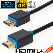 CABLE HDMI v1.4 de 1.5 o 10 MT 3D 1080P 4K Conectores 24K Retorno Audio ETHERNET