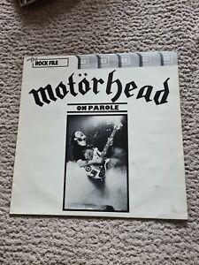 Motorhead album - On Parole