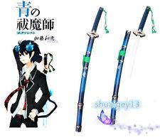 Ao no Blue Exorcist Ekusoshisuto Rin Okumura Sword Cosplay prop#s