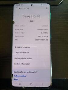 Samsung Galaxy S20 5G SM-G981U - 128GB - Black AT&T Used!!
