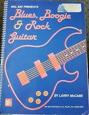 VTG Mel Bay Presents Blues Boogie And Rock Guitar Lesson Tab Book