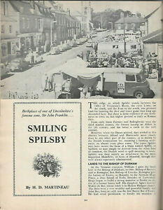 Spilsby illustrated local history Lincolnshire Life September 1972