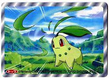 POKEMON TV TOKYO JR KIKAKU 1997 RV 3D N° 152 CHIKORITA GERMIGNON
