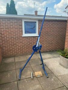 Record UL223 Stand Pipe Bender with 28mm Former Used Excellent condition
