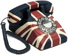 GPO Union Jack Push Button Retro Telephone BNIB Home Electronics Vintage Phones