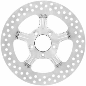 Xtreme Machine - 0133-1800XFRS-CH - Fierce Brake Rotor, Chrome~