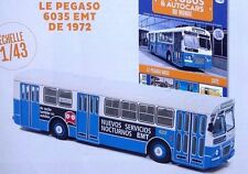 Hachette ixo 1.43 Bus Pegaso 6035 EMT (1972) Madrid España Spain