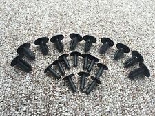 AUDI FIR TREE PLASTIC PUSH RIVET CLIPS BUMPER TRIM BODY PANEL RETAINER 10PCS